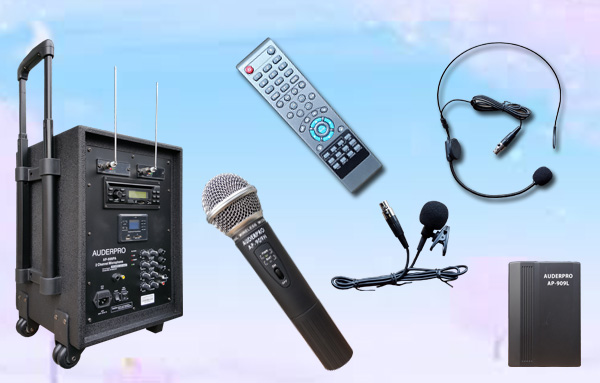 b portable wireless ap-909pa Bluetooth