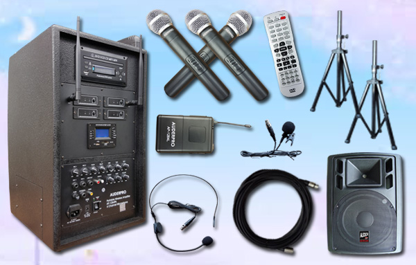e6 portable wiireless auderpro ap1284pa bluetooth dvd usb 1 speaker aktif ap112a 12 inch