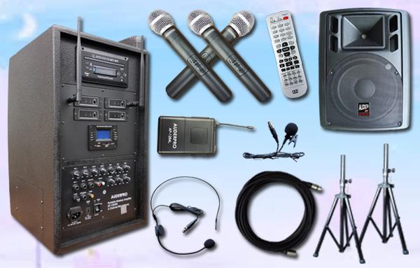 e8 portable wiireless auderpro ap1284pa bluetooth dvd usb 1 speaker aktif ap115a 15 inch