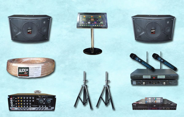 karaoke 6 mesin lagu