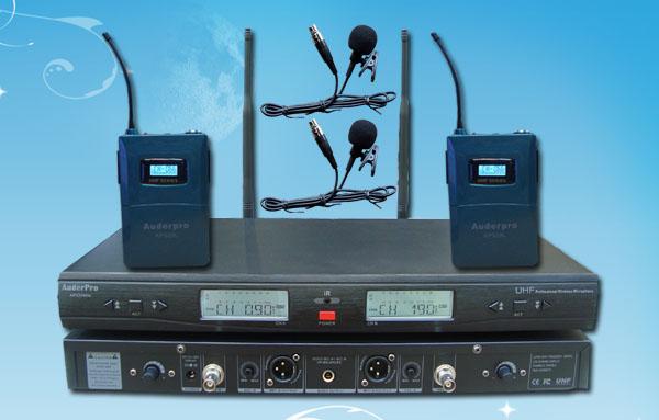 mic wireless auderpro ap929wm LL digital 2 jepit clip-on
