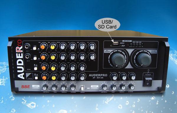 mixer amplifier karaoke auderpro ap804am rapat
