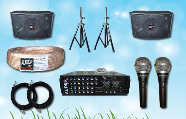 paket karaoke n auderpro harga alat karaoke murah terjangkau