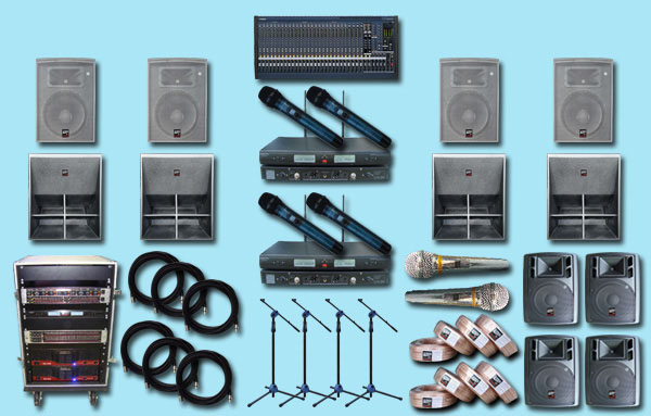paket sound system lux 5 jual yamaha auderpro aula indoor outdoor