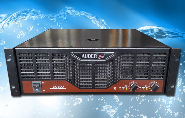 power amplifier professional auderpro sa-500
