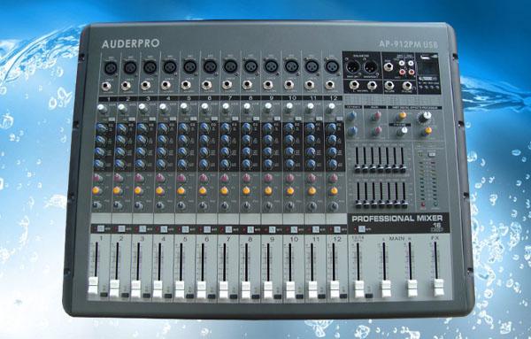 power mixer professional auderpro ap912pm usb