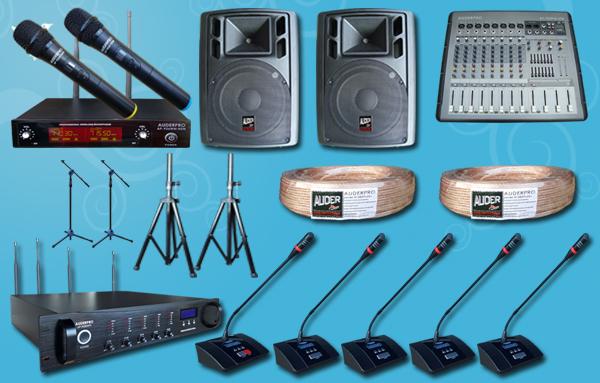 conference wireless auderpro D + sound system
