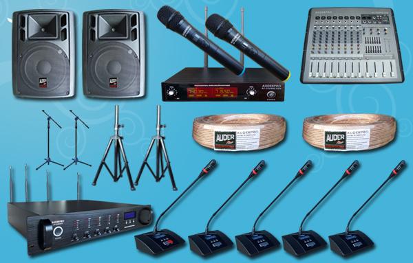 conference wireless auderpro F+  sound system