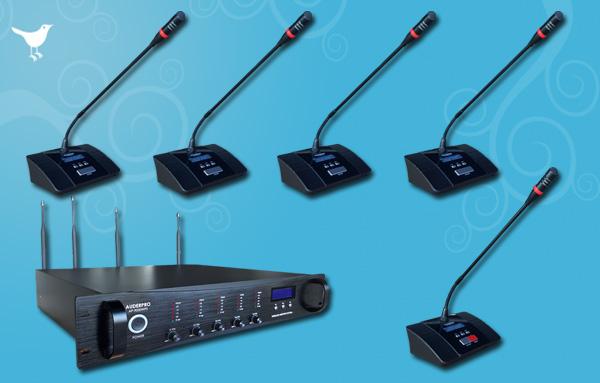 conference wireless auderpro L 15 Mic