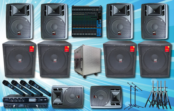 Paket Sound System Outdoor Sound System Harga Sound