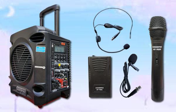 a2 portable wiireless auderpro ap-905pa bluetooth usb