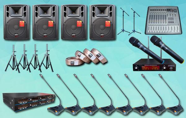 mic meja wireless auderpro K1 16 mic+ sound system 15 inch