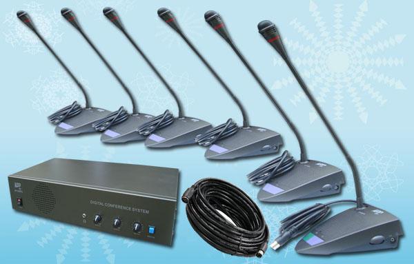 paket conference 10 6 mic rapat konsultasi conference system auderpro ap808mc