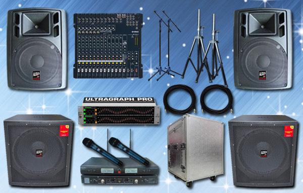 paket meeting besar 7 yamaha auderpro sound system hotel cafe live musik