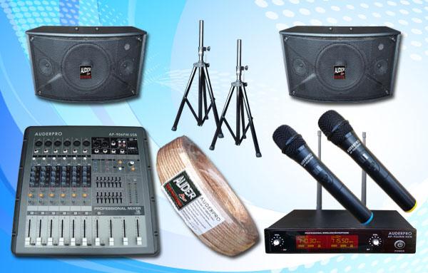 paket meeting kecil 7 auderpro sound system bagus garansi