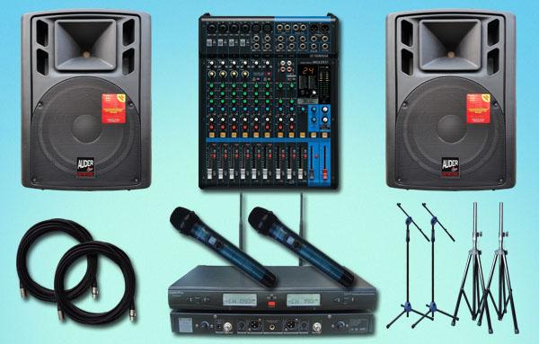 paket meeting sedang 1 yamaha auderpro jual pasang sound system speaker aktif