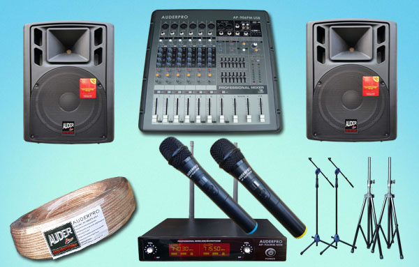 paket meeting sedang 10 auderpro daftar harga sound system upacara senam