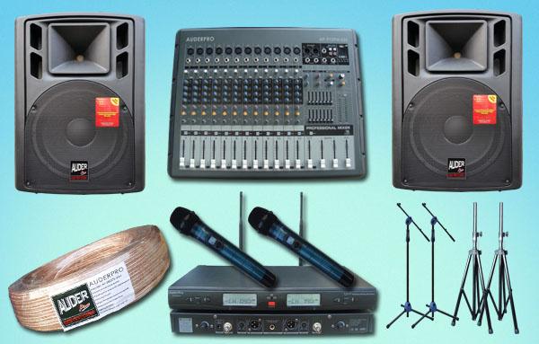 paket meeting sedang 4 auderpro jual pasang sound system seminar speaker pasif
