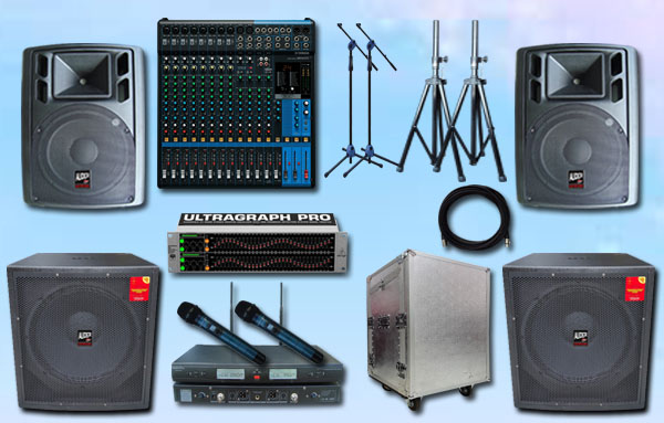 paket platinum 7  yamaha auderpro sound system audio cafe