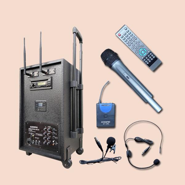 Portable Sound System Wireless Amplifier Meeting Auderpro